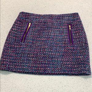 J.Crew Wool Blend Mini Pencil Skirt